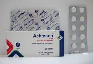 أكتينون أقراص لعلاج الشلل الرعاش والحركة المفرطة Achtenon Tablets