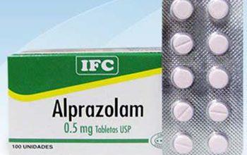 ألبرازولام أقراص لعلاج القلق والتوتر ومضاد للأكتئاب Alprazolam Tablets