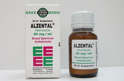 الزنتال شراب Alzental Suspension