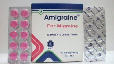 أميجران أقراص لعلاج الصداع النصفىAmigraine Tablets