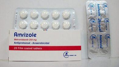 أمريزول مطهر معوى ومضاد للألتهابات البكتيرية Amrizole
