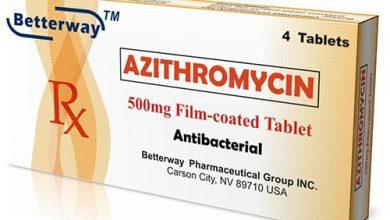 أزيثروميسين أقراص مضاد حيوى واسع المجال Azithromycin Tablets