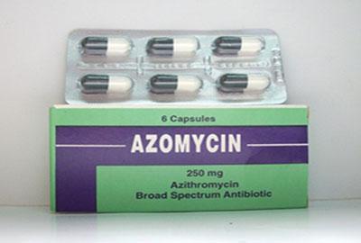 أزومايسين مضاد حيوى واسع المجال لعلاج الألتهابات البكتيرية Azomycin