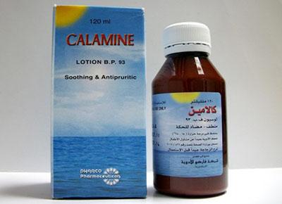 كلامين لوسيون لعلاج الالتهابات الجلدية ومضاد للحساسية Calamine Lotion
