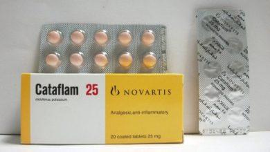 كتافلام مسكن للآلام الحادة ومضاد للألتهابات وخافض للحرارة Cataflam