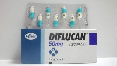ديفلوكان لعلاج الألتهابات الجلدية والفطريات فى المناطق الحساسة Diflucan