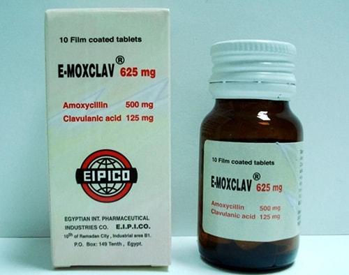 إيموكسكلاف مضاد حيوى واسع المجال لعلاج الألتهابات البكتيرية E-Moxclav