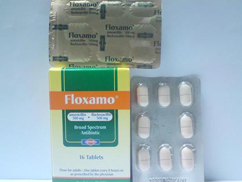 فلوكسامو أقراص مضاد حيوي واسع المجال Floxamo Tablets