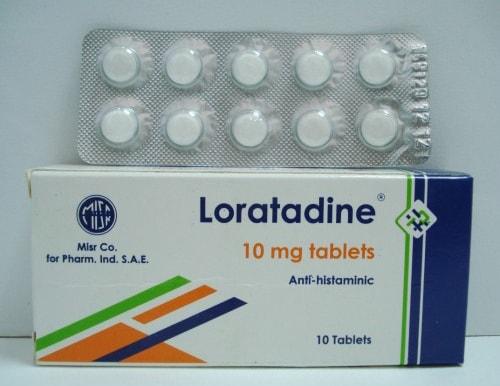لوراتادين لعلاج إلتهابات الانف ومضاد للحساسية Loratadine