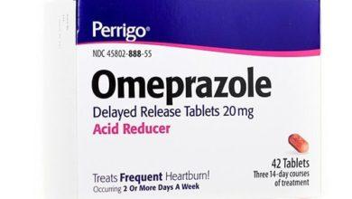 أوميبرازول أقراص لعلاج الحموضة وقرحة المعدةOmeprazole Tablets