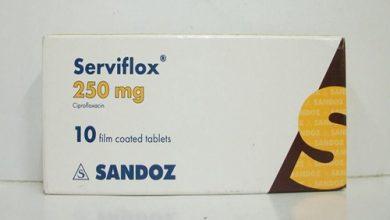 سرفيفلوكس أقراص مضاد حيوى واسع المجالServiflox Tablets