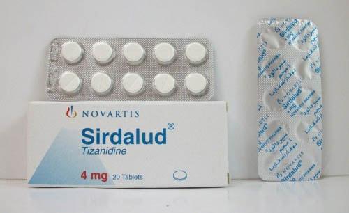 سيردالود أقراص باسط للعضلات ومسكن للالم Sirdalud Tablets