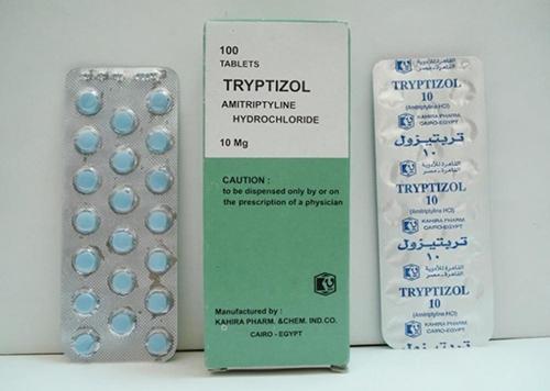 تربتيزول أقراص لعلاج القلق ومضاد للاكتئاب Tryptizole Tablets