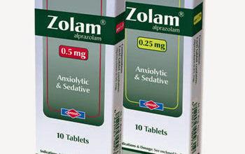 زولام أقراص لعلاج الامراض النفسية والقلق Zolam Tablets