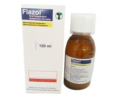 فلازول شراب flazol suspension