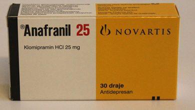 أنافرانيل أقراص مضاد للاكتئاب ولعلاج الوسواس القهري Anafranil Tablets