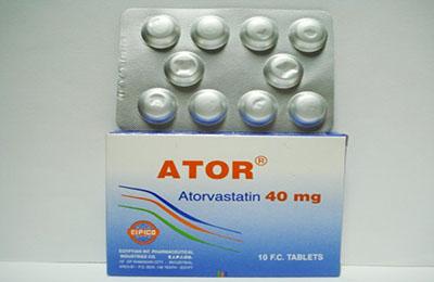 أتور أقراص لعلاج زيادة نسبة الكوليسترول فى الدم Ator Tablets