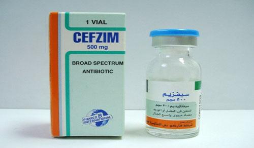 سيفزيم فيال حقن مضاد حيوى واسع المجال Cefzim Vial