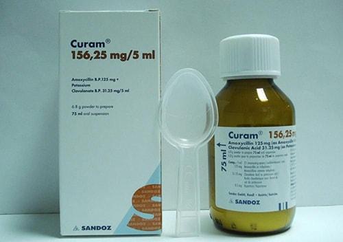 كيورام شراب Curam suspension