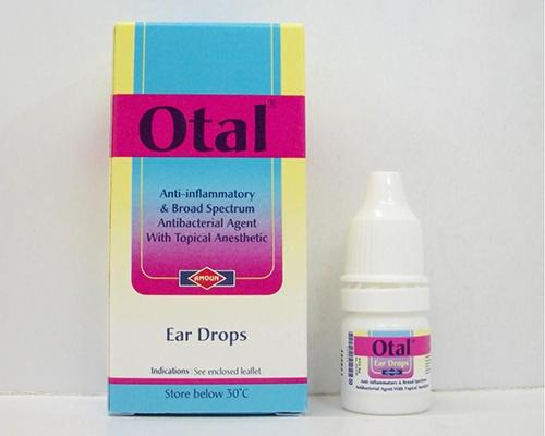 أوتال نقط مزيل لشمع الاذن ولعلاج التهاب الأذن الخارجية Otal Ear Drops