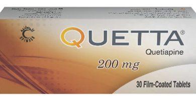 كويتا أقراص لعلاج نوبات الهوس ومضاد للاكتئاب Quetta Tablets