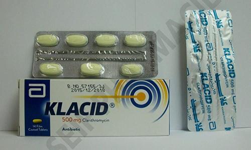 كلاسيد مضاد حيوى واسع المجال لعلاج الألتهابات البكتيرية klacid