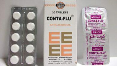 كونتافلو أقراص لعلاج نزلات البرد والزكام Conta Flu Tablets