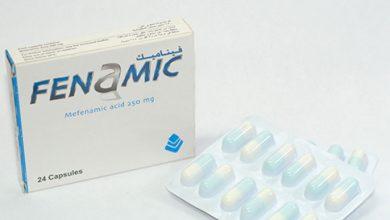 فيناميك كبسولات مسكن للآلام ومضاد للألتهابات Fenamic Capsules