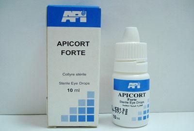 أبيكورت فورت قطرة لعلاج إلتهابات العين Apricot Forte Drops