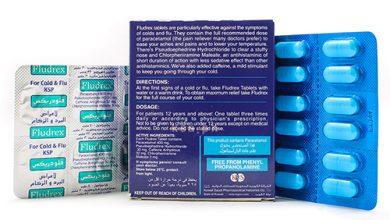 فلودريكس لعلاج نزلات البرد والانفلونزا وتسكين ألم الصداعFludrex