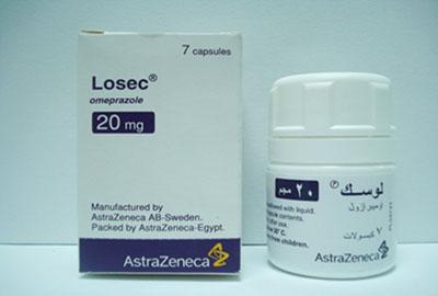 لوسك لعلاج قرحة والتهاب المعدة والأثنى عشر المعدة والحموضة Losec