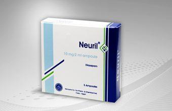 نيوريل لعلاج القلق والتوتر ونوبات الصرع وتشنج العضلات Neuril