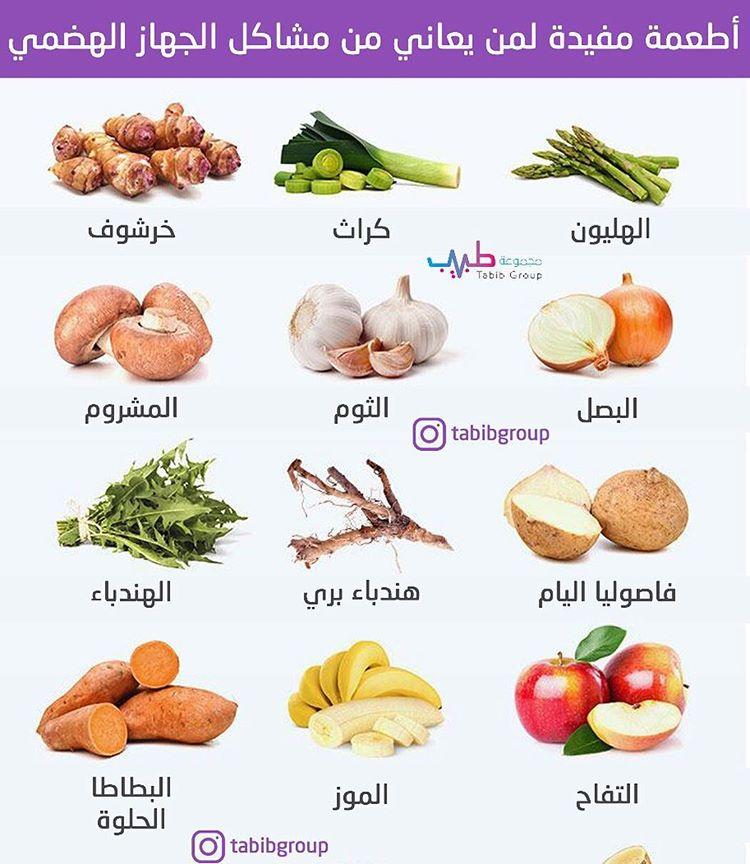 أطعمة مفيدة لمن يعاني من مشاكل الجهاز الهضمي