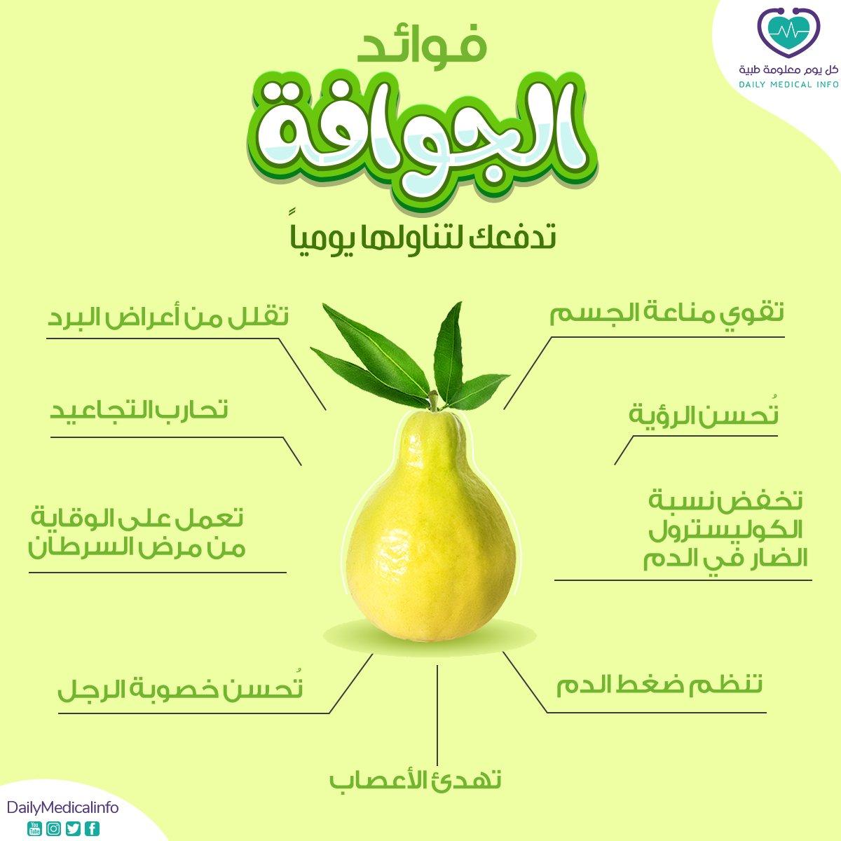 تعرفوا على فوائد الجوافة المتنوعة..