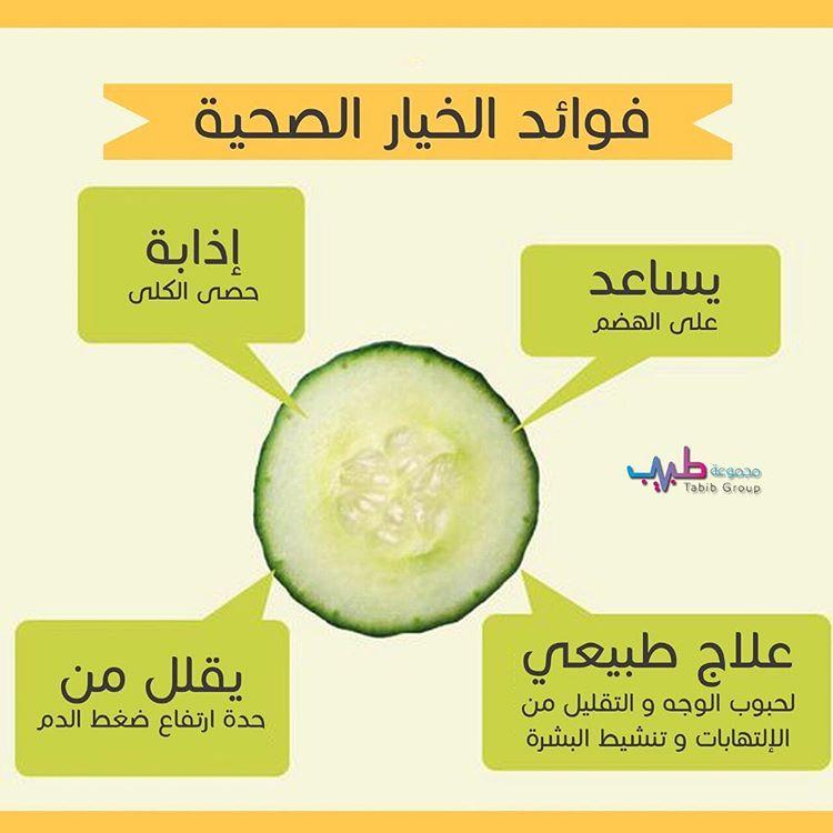 فوائد الخيار الصحية