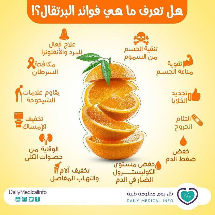 هل تعرف ماهي فوائد البرتقال ؟