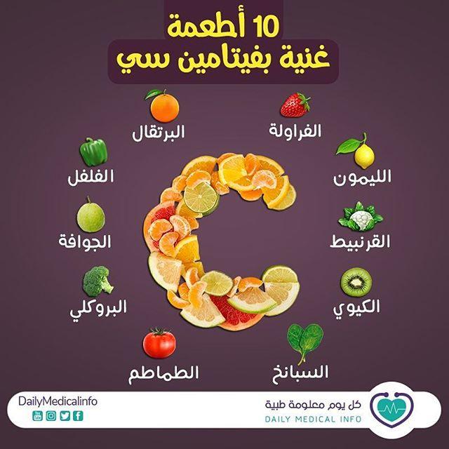 10 أطعمة غنية بفيتامين سي