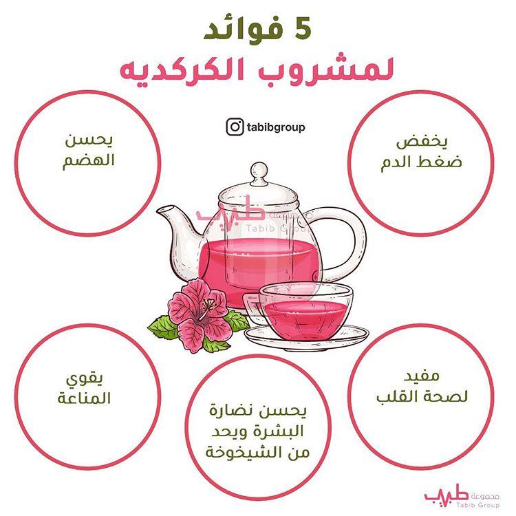 5 فوائد لمشروب الكركدية
